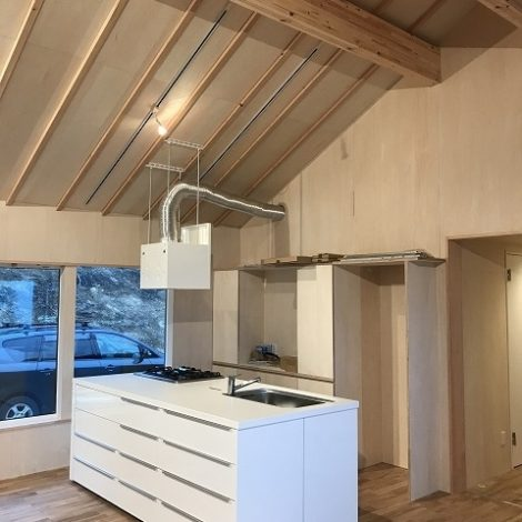 IKEAの組み立てアイランドキッチン